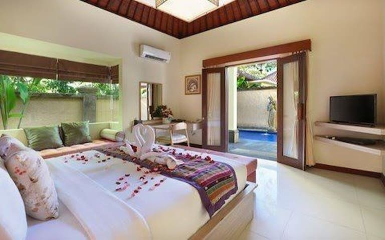 AUM Sanur Stunning 1 BR Pool Villas Walk to Beach