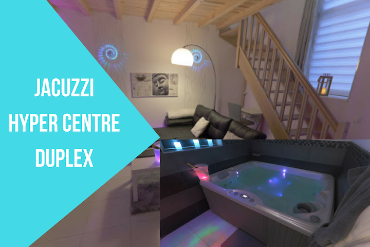 Sparadise Lillle, Hypercentre, Jacuzzi, 40m² Cosy