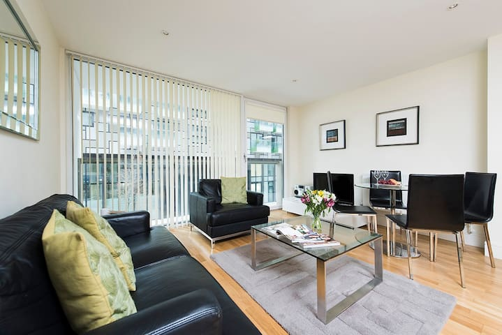 Modern, Charming 1BR near Canary Wharf - London - Apartment