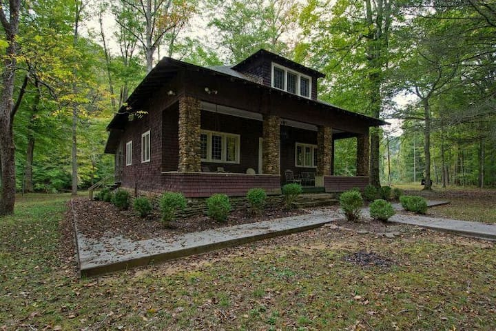 Greenbrier River hideaway on private island