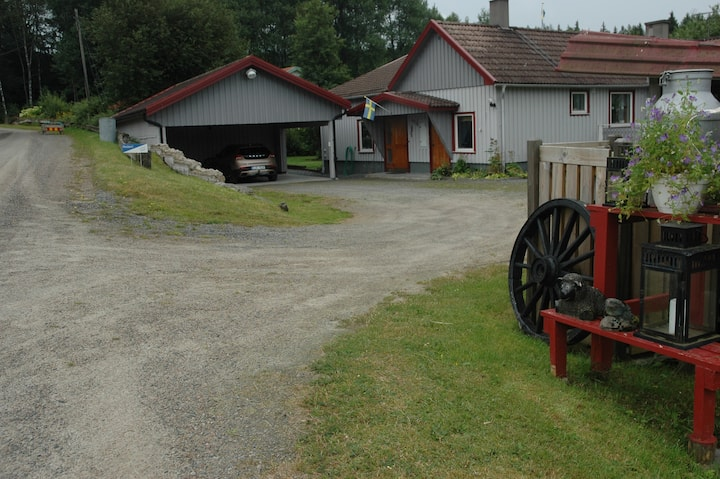 Familjevänligt hus, 30 minuter från Göteborg