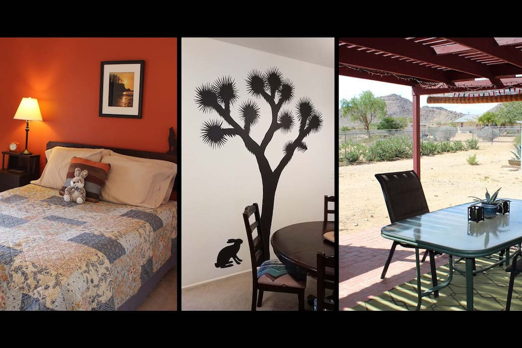 Overview of the Cozy Coyote in Joshua Tree, CA