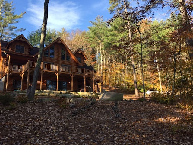 Fall cabin get away for remote work or home school