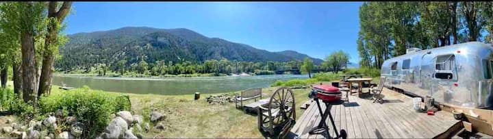 Greg's RV Campsite on Yellowstone River