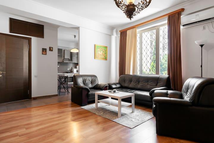 1 BR apartment near Vake Park.
