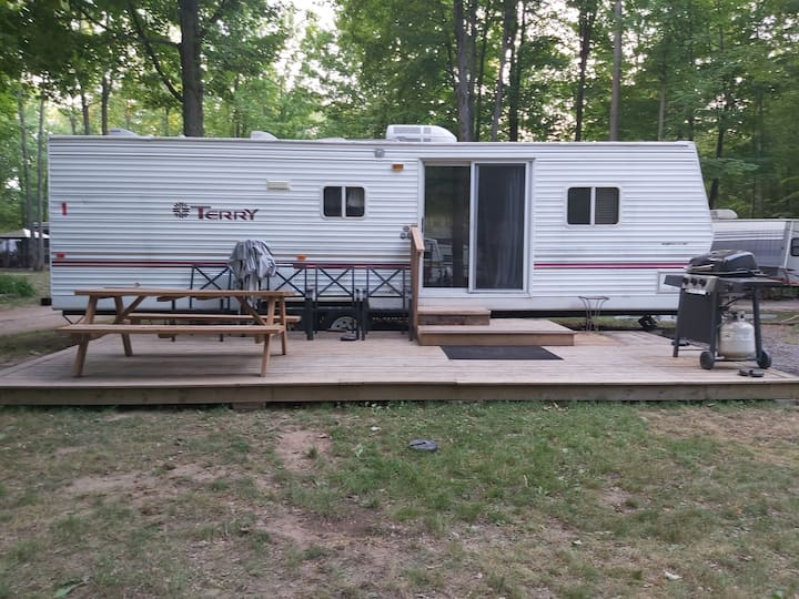SDD Camping, trailer 1, Terry