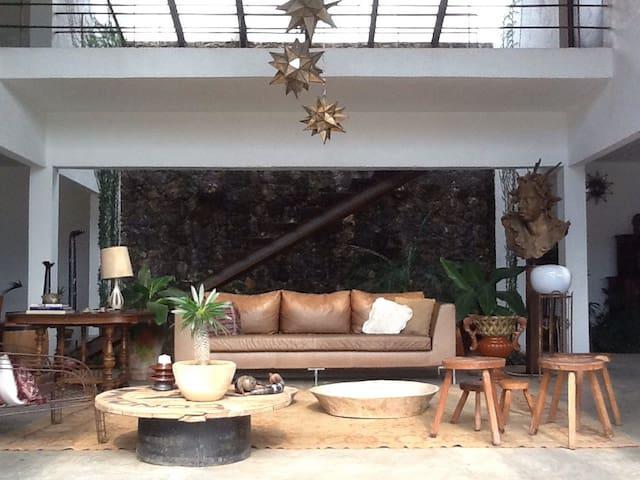Hipster, vista, creativa y amplia - Tepoztlán - Haus
