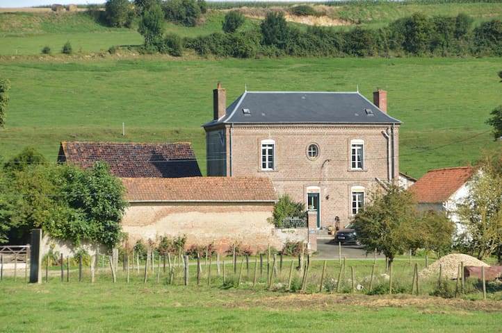 Maison Gruettes - a beautifully restored house. - Raye-sur-Authie - Casa