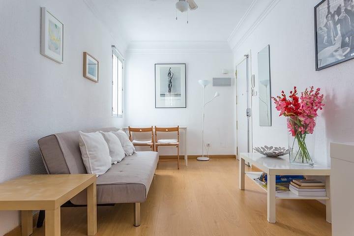 Cozy and quiet flat near Madrid Rio