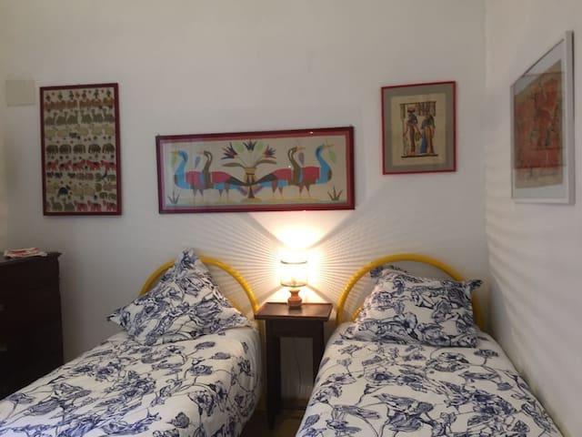 Chambre à deux lits ou lit matrimonial à votre convenance