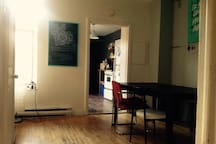 L'entrée / Salle à manger
