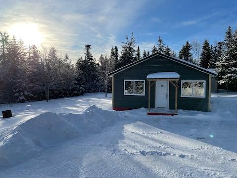 Sawmill Creek Cabin, Caledonia Mountain NB