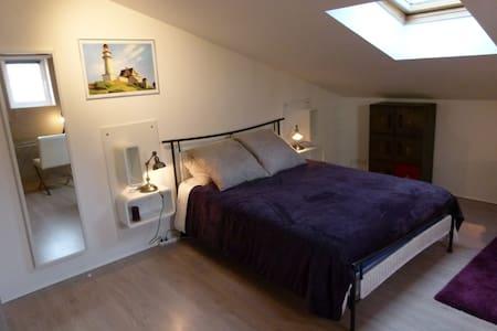 Chambre Moderne non-fumeur /maison avec jardin - Limoges - Casa
