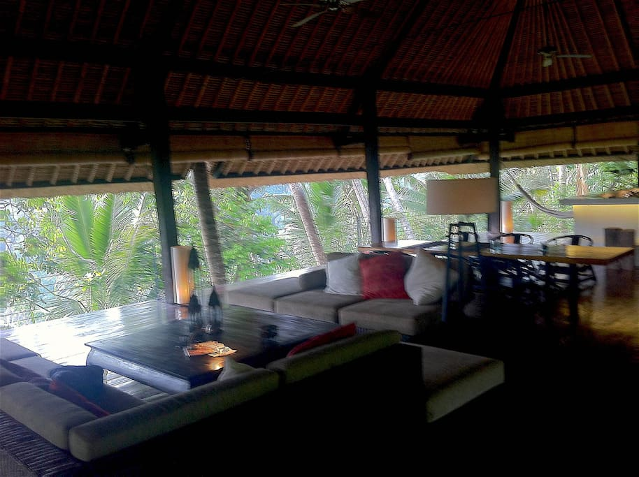 Eco lodge for yoga and meditation