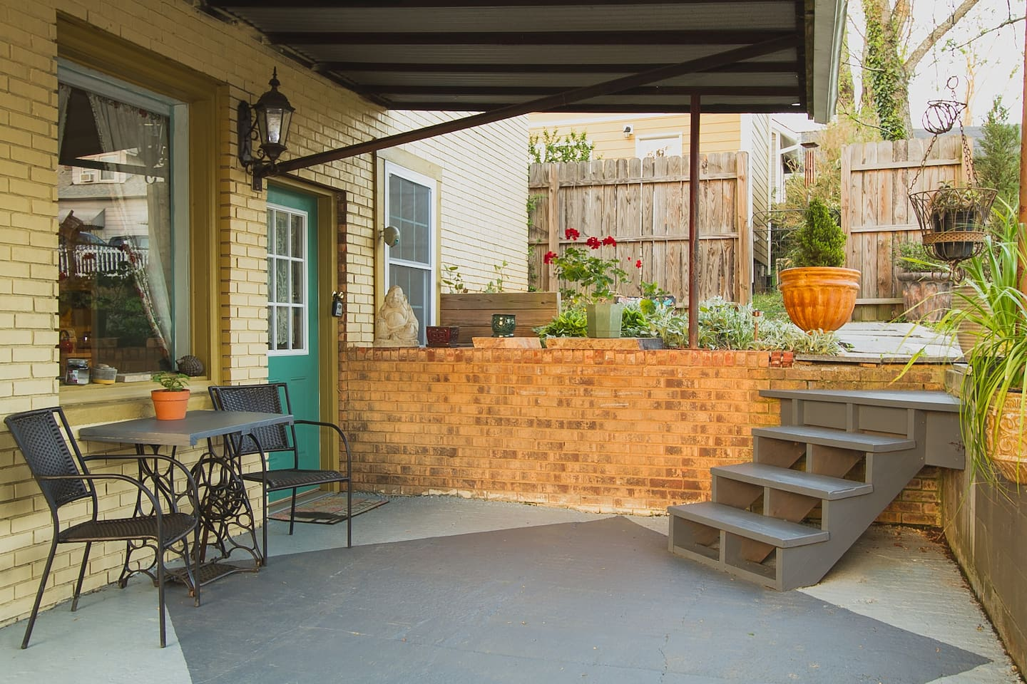 Entrance with Covered Patio.