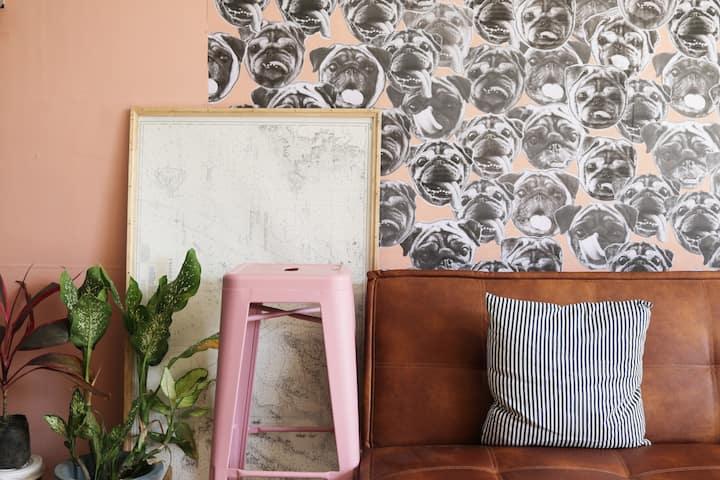 Seis Hostel-Shared Room for Four Near Blvd & Malls