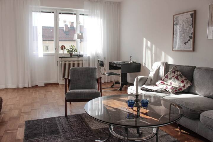 Beautiful apartment close to the city and water - Stockholm - Apartment