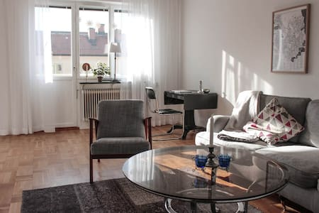 Beautiful apartment close to the city and water - Стокгольм - Квартира
