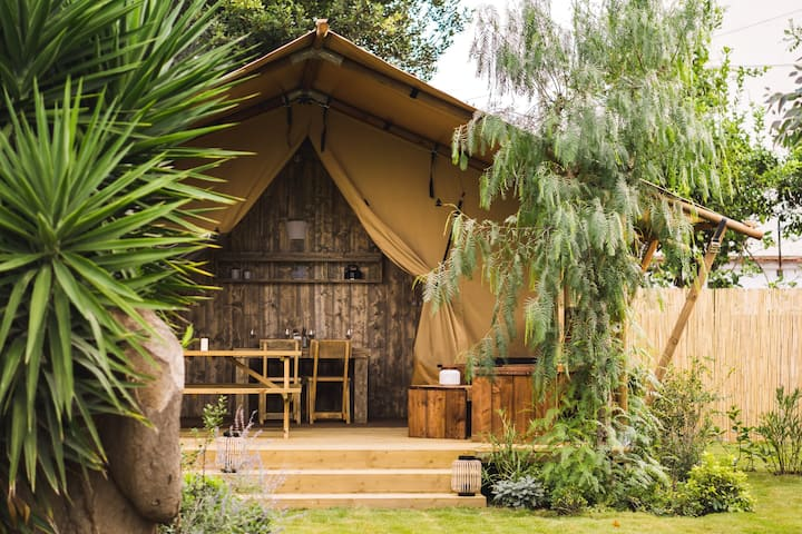 Safari Lodge for families in the island of Procida