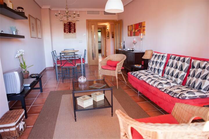 Precioso apartamento entre el golf y la playa - Motril - Flat