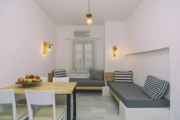 Cozy Budget Apartment 30 meters from the Beach!