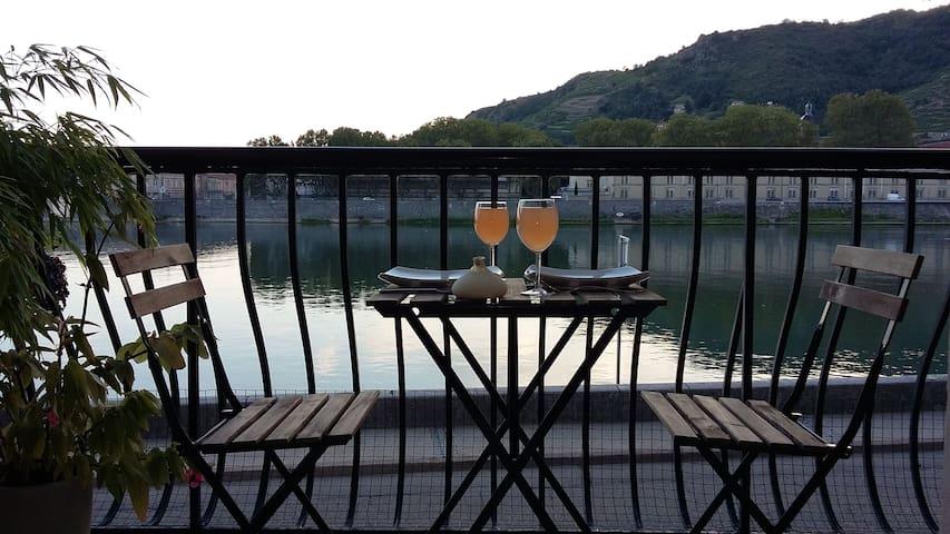 Au rythme du Rhône et de ses péniches - Tain-l'Hermitage