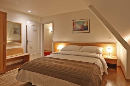 Chambre d'hôtel simple ou double au centre ville - Bulle - Diğer