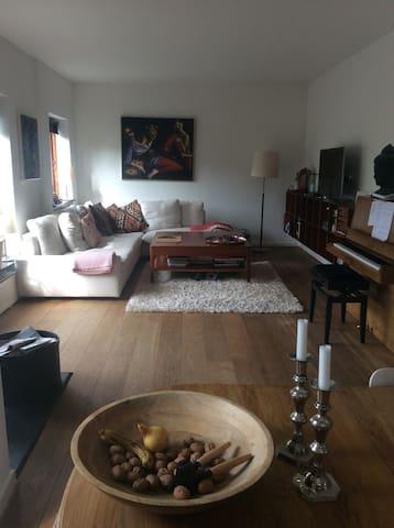 Private part/bedroom/bathroom in Copehagen villa. - København - Hus