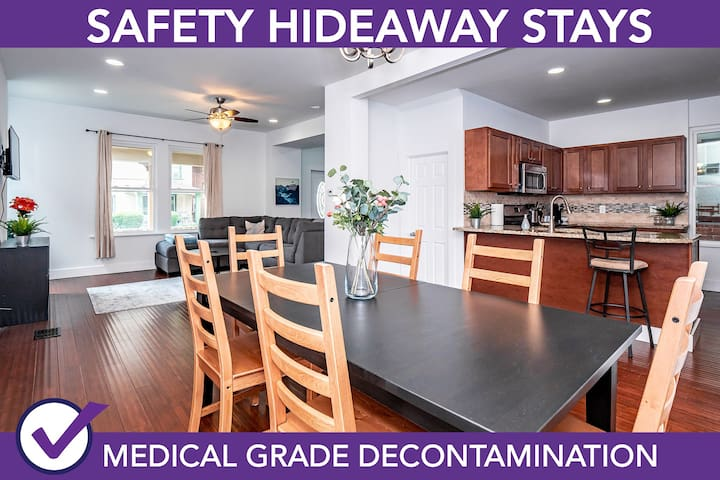 Safety Hideaway - Medical Grade Clean Home 31