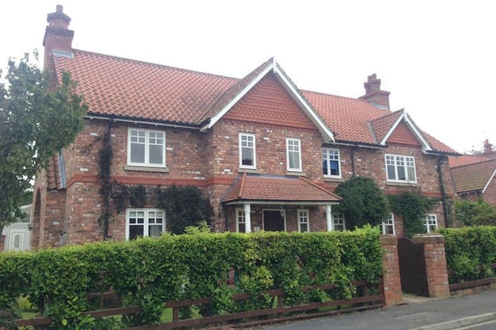 Beautiful Double in spacious house near York - Escrick - Haus