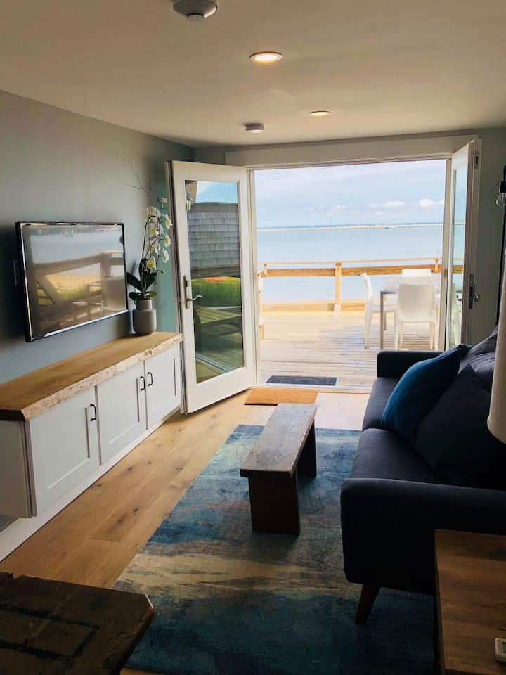 Waterfront Condo with Deck & Amazing Views!