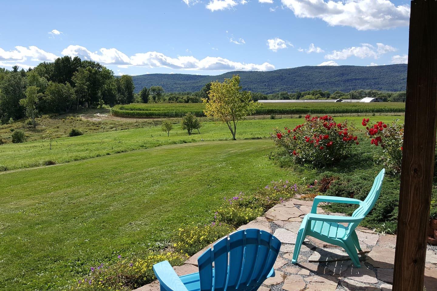 Quiet country living, panoramic views