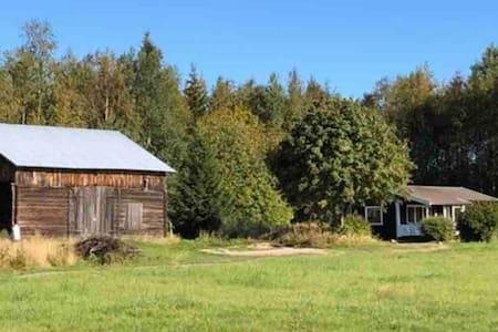 Stuga i Järvsö, nära Järvsöbacken 5 bäddar