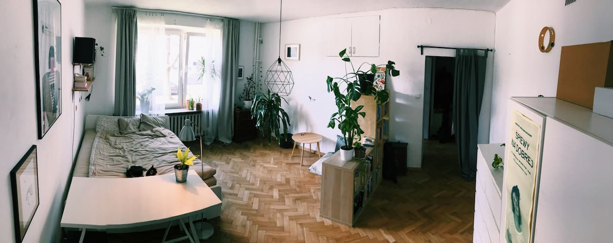 Homely apartment 40m2 Muranów