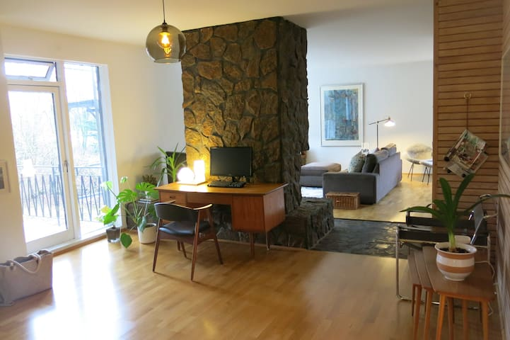 Family apartment in central but quiet location - Reikiavik - Apartamento