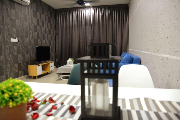福尔摩 Bandar TuN RazaK 三房2厕 3 Rooms UKM 近吉隆坡kl city