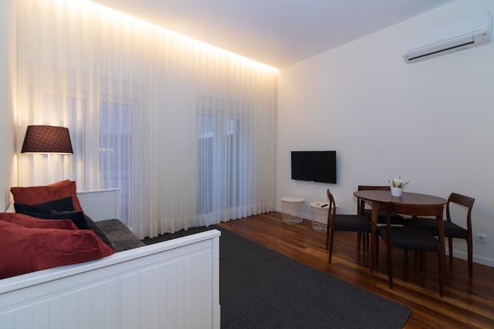 Afonso Henriques - Apartamento com 1 Quarto