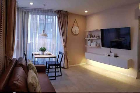 Minimalist 2Bed Apt-Simply Luxurious Living@Nimman