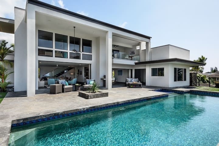 Gated Residence with Panoramic Ocean Sunset Views