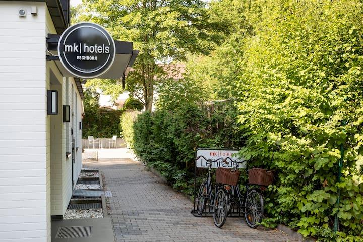 mk | hotel eschborn - Einzelzimmer Economy Eco