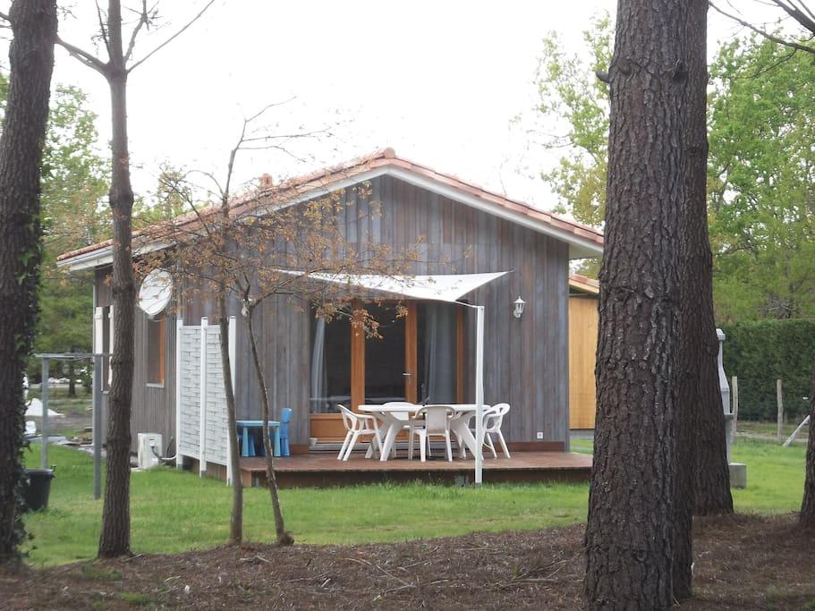 Maison neuve en bois climatis e class e 3 toiles for Maison neuve aquitaine