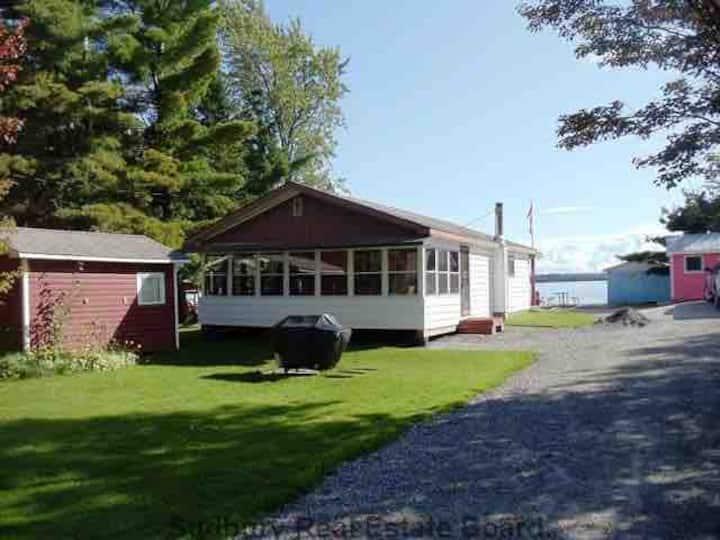 Cottage on lake Nipissing