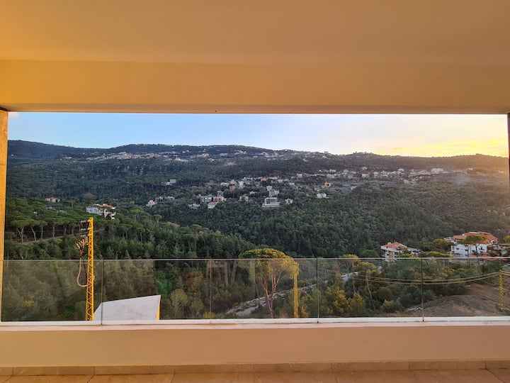Brand new spacious apartment with an amazing view