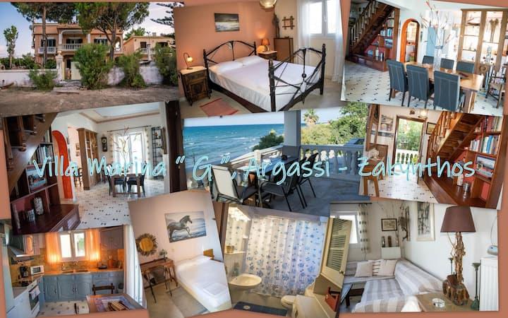 "Villa marina ""G""  - Πάνω στο κύμα πανοραμική θέα -"