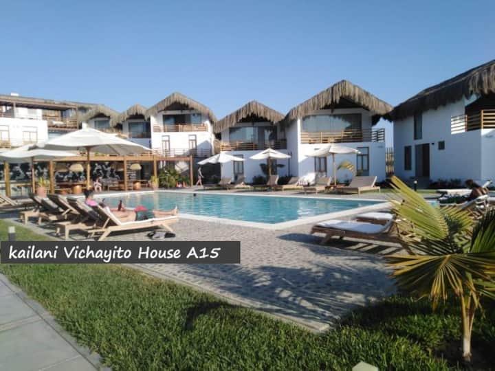 Kailani Vichayito House A15, hermosa vista al mar