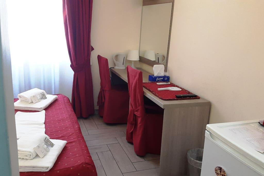 Camera Rossa Matrimoniale