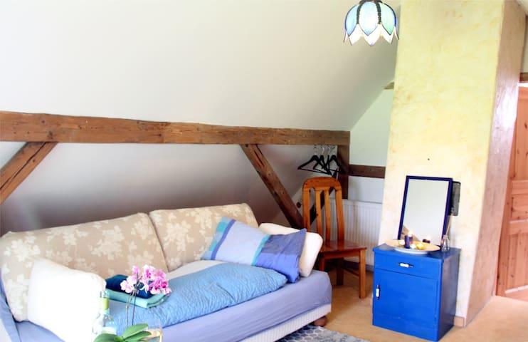 Economy-Einzelzimmer mit Gemeinschaftsbad - Oersberg - Apartment