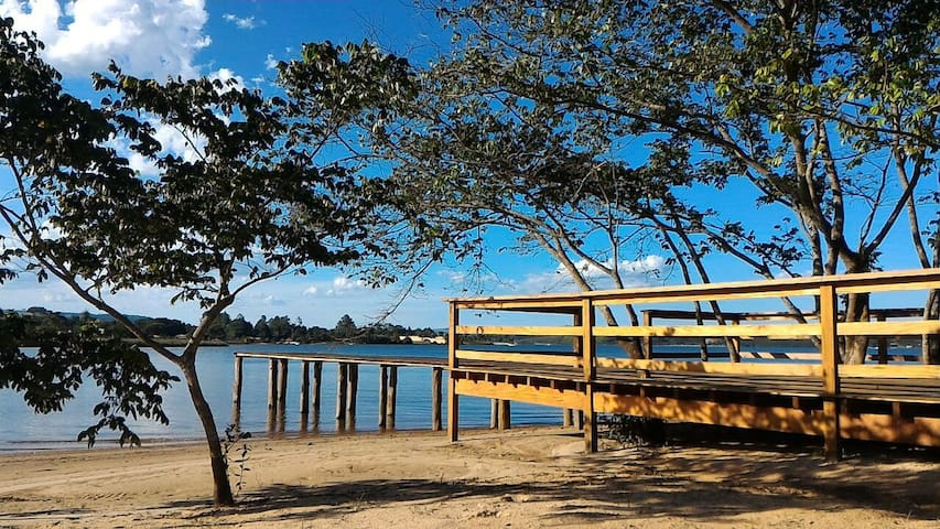 Casa de campo, lugar paradisíaco em Rifaina/SP