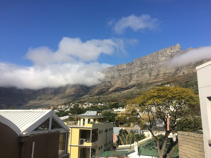 Table Mountain Views!  Clean Studio by City Centre