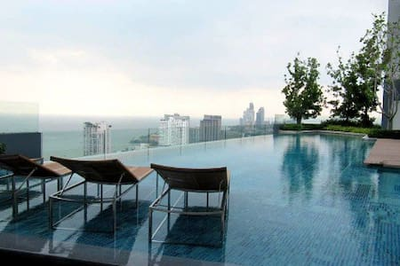 Centric Sea Condo with Paranomic City and Sea View - Muang Pattaya